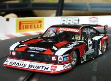 Sideways Slotcar FORD CAPRI Zakspeed WÜRTH 1:32 auch für Carrera Evolution  SW48