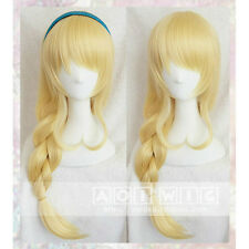 AOI Love Live! Xuan Seto Eri Blonde Tails Cosplay Wigs