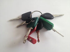 !7 Volvo Keys - Heavy Equipment Key Set with Laser Isolator F Series - NEW!