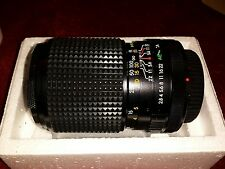 """Sears 135mm f2.8 with macro Canon """"C"""" Mount w/caps and box SN 840604117"""