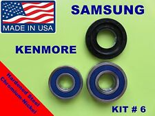 FRONT LOAD WASHER,2 TUB BEARINGS AND SEAL, Samsung,Kenmore  KIT # 6 ,DC-6200156A