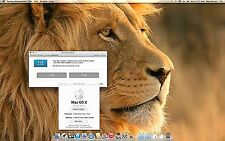 Apple Mac Mini Desktop; Lion OSX 10.7.5 **4GB's ram** 2.0GHz cpu *320 GB drive**