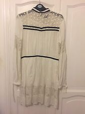 Topshop Sold Out Dress Size 10 Crochet