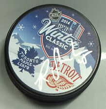 RILEY SHEAHAN Signed DETROIT RED WINGS WINTER CLASSIC HOCKEY PUCK! 1003381