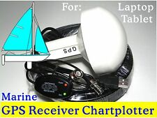 Marine Laptop Tablet GPS Receiver Antenna/ Chartplotter Google earth Garmin Cmap