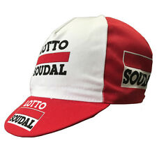 LOTTO SOUDAL 2016 PRO CYCLING TEAM BIKE CAP - Made in Italy