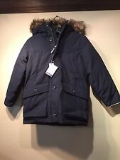 NWT Gap Kids Boy's down parka Jacket,True Indigo SIZE XL (12) REGULAR   #164328