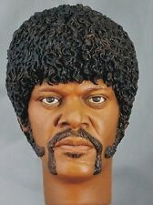 1:6 Custom Head of Samuel L. Jackson as Jules Winnfield from Pulp Fiction