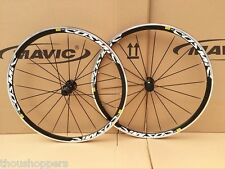 New Mavic Cosmic Elite S Clincher Bike Triathlon 700c F&R Wheels Wheelset