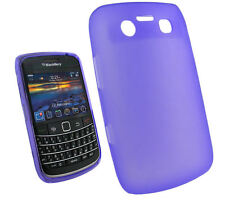 NEW Purple Gel Case Skin Cover for BlackBerry 9780 Bold