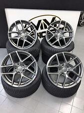 18 Zoll Borbet Y Felgen 5x100 et40 Titan für Lexus CT200h Toyota Avensis Prius