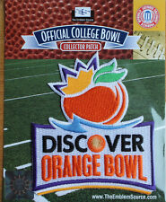 2014 Orange Bowl NCAA Football Patch CLEMSON TIGERS - OHIO STATE BUCKEYES