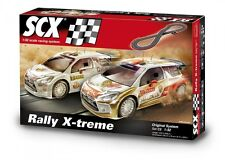 SCX  C2 world Rally X-treme Abu dhabi 1/32 slot car set A10162X500