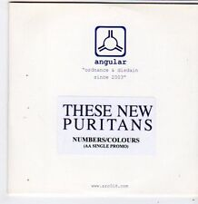 (FG811) These New Puritans, Numbers/Colours - 2007 DJ CD