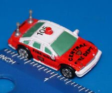 MICRO MACHINES CHEVY CAPRICE CENTRAL FIRE DEPT Car Galoob