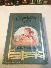 Charlotte's Web and Other Illustrated Classics by E.B. White - leather-bound NEW
