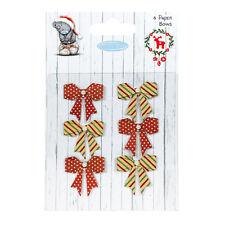 Me To You Weihnachten Papier Schleifen für karten und kunsthandwerk