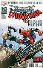 AMAZING SPIDERMAN 694 SOLD OUT 1st PRINT COVER RARE WHO IS ALPHA ?? NM SUPERIOR