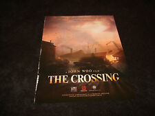 THE CROSSING 2014 promo ad with John Woo, Zhang Ziyi, Takeshi Kaneshiro