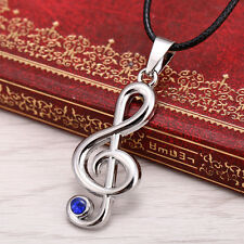 Anime Vocaloid Hatsune Miku Musical Note Necklace Kagamine Rin Cosplay Pendant