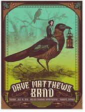 2016 DAVE MATTHEWS BAND TORONTO BIRD JOCKEY CONCERT POSTER 7/19 #/600 BONUS ON