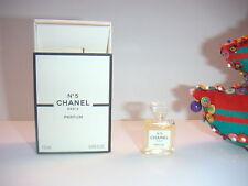 JOLIE  miniature  N° 5 PARFUM  de CHANEL  pleine + boite NEUVE  PARFUM