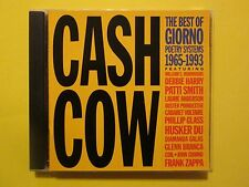 Cash Cow The Best of Giorno Poetry Systems Frank Zappa Patti Smith Husker Du CD