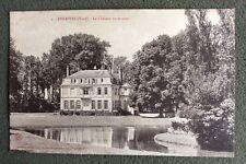 CPA. ANNAPPES . 59 - Le Château vu de côté. Cléry. Montalembert. Brigode.