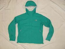 THE NORTH FACE VENTURE Hyvent HOODED SEAM SEALED Waterproof RAIN JACKET Green S