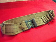 Original WWI Era Mills Orndorf 12 Gauge Shotgun Shell Ammo Belt H Buckle Span-Am