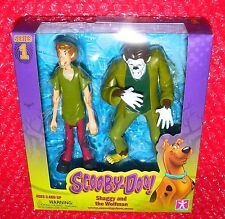 Scooby-Doo! Shaggy and the Wolfman Series 1 action figures