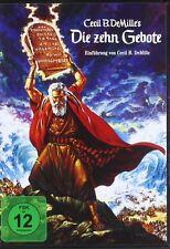 DIE 10 DIECI GEBOTE Yul Brynner CHARLTON HESTON Anne Baxter 2 DVD Box Nuovo