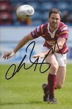 HUDDERSFIELD GIANTS RUGBY LEAGUE * CHRIS BAILEY SIGNED 6X4 ACTION PHOTO+COA