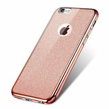 Bling Glitter Clear Silicone Cases for iPhone 7 Detachable Ultra Thin TPU Skin
