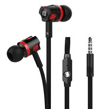 In-Ear Earphones Stereo Headphones Headset Earbuds with Mic For Smart Phones^