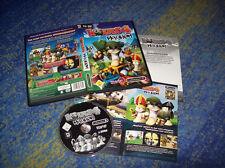Worms 4: Mayhem  PC  Deutsche Version in original DVD Hülle und Sicherheitscode