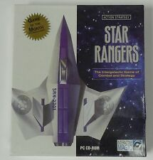 Star Rangers Intergalactic Game of Combat and Strategy NEW PC CD-ROM Action