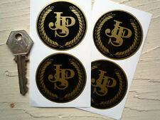 JPS Black & Gold stickers  50mm set of 4 LOTUS etc.
