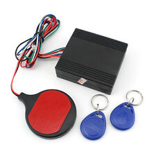 Latest Motorcycle Bike IC card Alarm induction invisible lock Immobilizer Lock