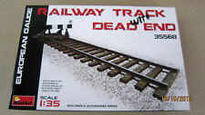 Railway Track with Dead End  European Gauge   1/35  by MiniArt  # 35568 NEW!!!