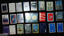 23pc Lot Playing Cards Worlds Fair Airlines Seagulls Ozarks (10D)