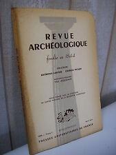 REVUE ARCHEOLOGIQUE 1965 avr-juin Apollon dédalique à Lyon culte de Sol & Luna
