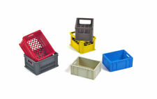 1/35 Scale model kit Plastic Crates Set Contains 6 crates,  (2 of each type)