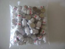Lionel 3662-70 White Milk Cans- (pkg.of fifty)