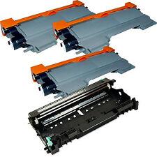 3x TN450 Toner +1x DR420 Drum For HL2240/HL2270/MFC7360/MFC7860dw/DCP-7060