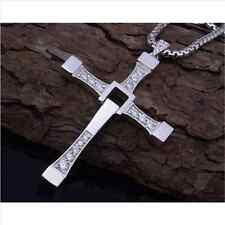 Fashion THE FAST and The FURIOUS Dominic Toretto's CROSS Chain Pendant Necklace