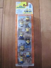 MINIONS MOVIE Minion 8 pack Figures Gift Set NEW