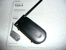 SONY TUNER TIMER UNIT TGV-3 FOR VIDIO WALKMAN AND OPERATING INSTUCTIONS