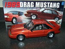 GMP 1:18 1989 FORD DRAG MUSTANG (ORANGE)