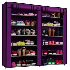 FOLDING SHOE RACK 12 LAYERS- DOUBLE 6 layer Shoe organisor multipurpose rack